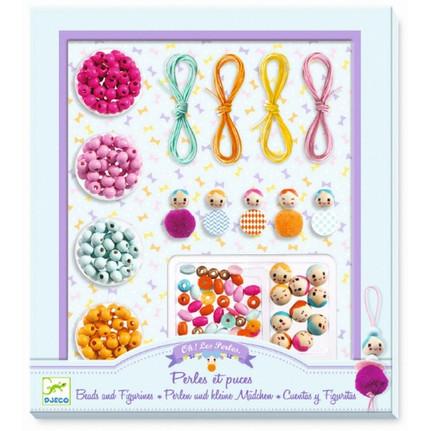 Schmuck Basteln: Perlen & kleine Mädchen