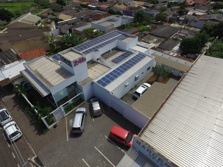 Energia Solar - Triovet Comércio Ltda