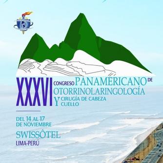 XXX VI Congresso Panamericano de Otorrinolaringologia e Cirurgia de Cabeça e Pescoço