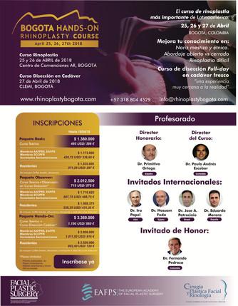 Bogota Hands-On - Rhinoplasty Course