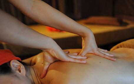 Strong deep massage