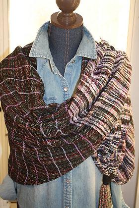 Abigail Cotton Silk Linen Tassel Wrap SO