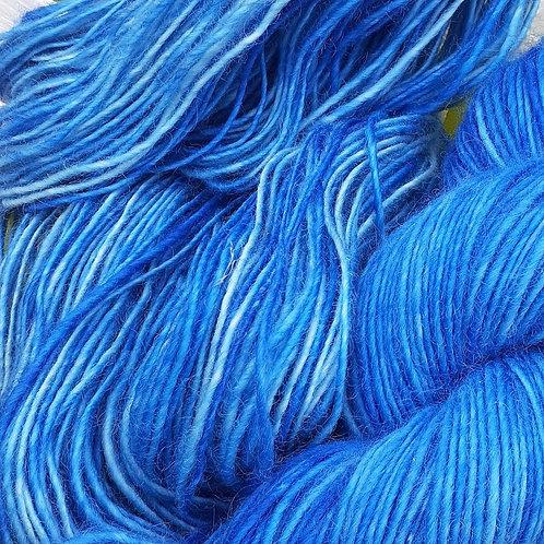 BRILLIANT BLUE YARN