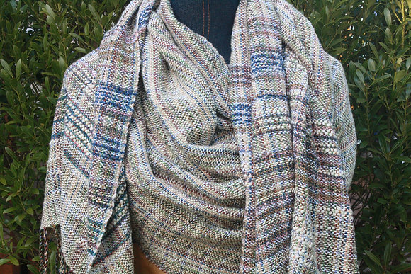 Elizabeth Cotton Silk Linen Shawl SO
