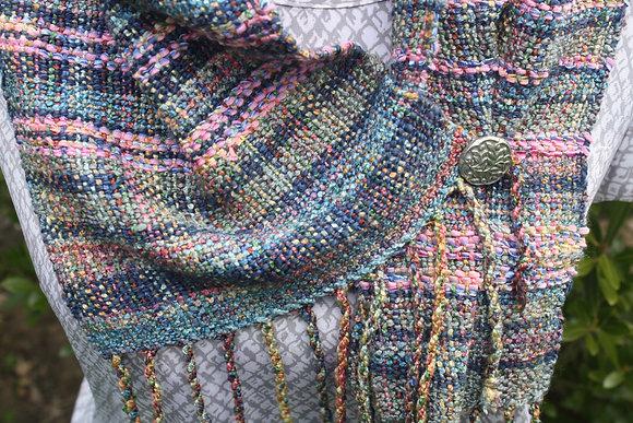 Dorothy Cotton Silk Linen Scarf SO