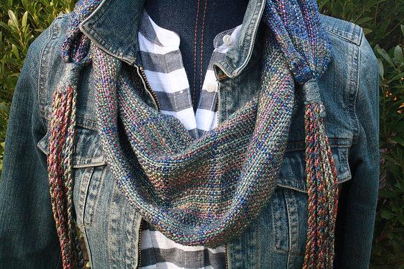 Amelia Cotton Silk Linen Scarf SO
