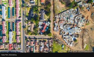 Drone Photography Captures Stark Divide Between Rich And Poor