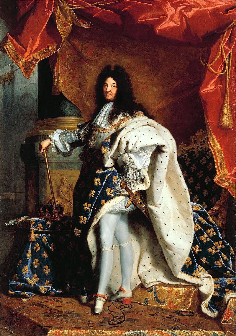 Hyacinthe Rigaud, Louis XIV of France (1701)