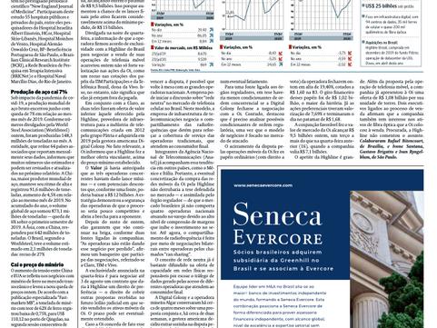 Butique Evercore volta ao Brasil após três anos