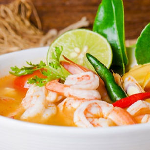 Tom Yam Khung🌺🌴🌿 La sopa perfecta par