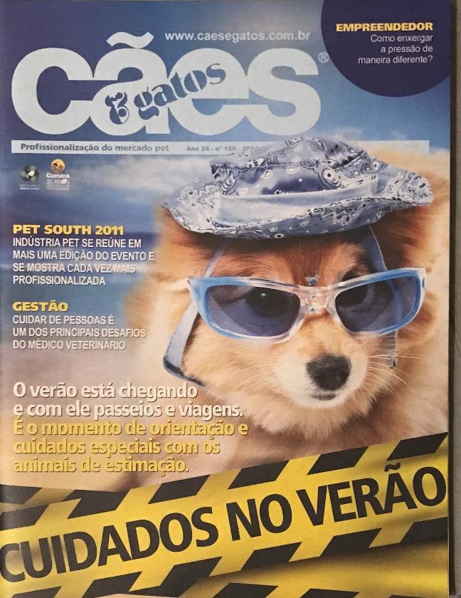 Revista Cães e Gatos- ReportagemCapa