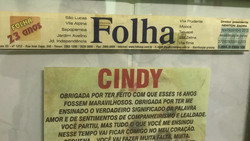 Homenagem à Dra Flávia Jornal V. Pru