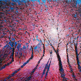 Sold - Blossoming by Chris Quinlan Art