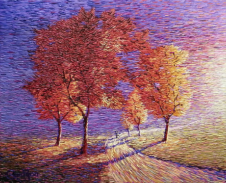 impressionism abstract painting