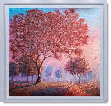 Textured painting by Chris Quinlan Irish Artist