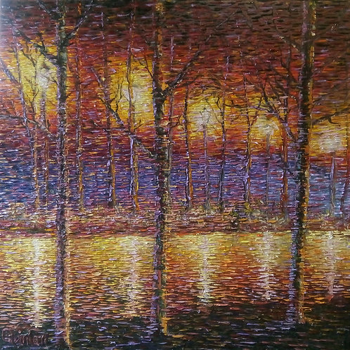 impressionistism abstract painting