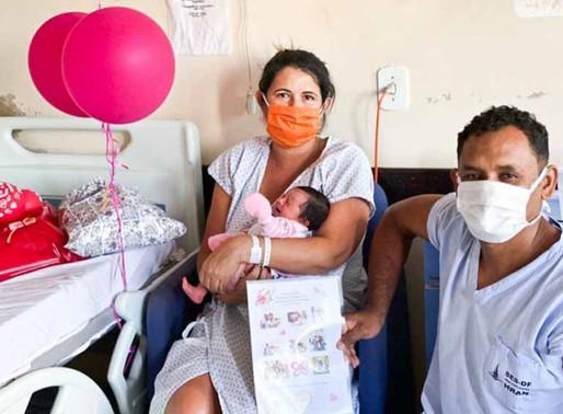 Grávida intubada vence Covid e filha nasce saudável no DF