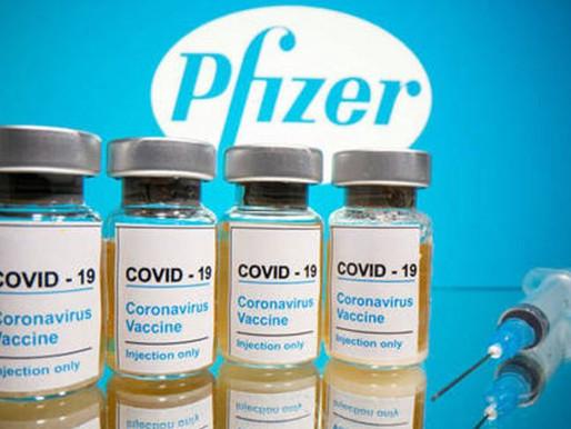 Pfizer termina vacina com eficácia de 95 % e manda para FDA aprovar