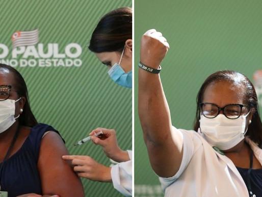 Anvisa aprova uso de vacinas contra Covid-19 e enfermeira paulista é a primeira a ser vacinada no Br