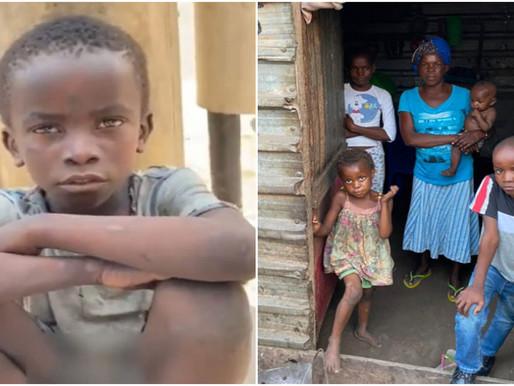 Vida nova! Vaquinha para menino angolano de 8 anos encontrado pedindo comida arrecada R$ 120 mil
