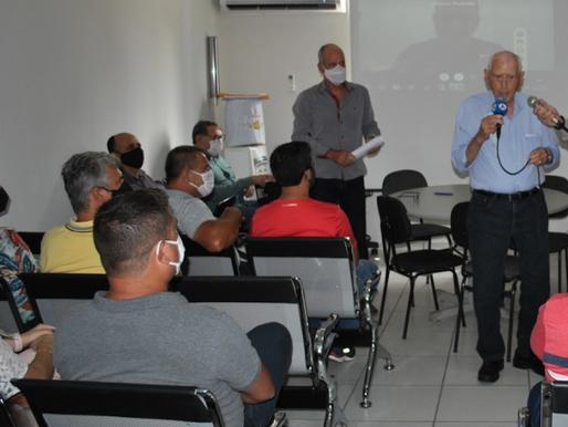 José Braz é eleito por unanimidade presidente da Amerp