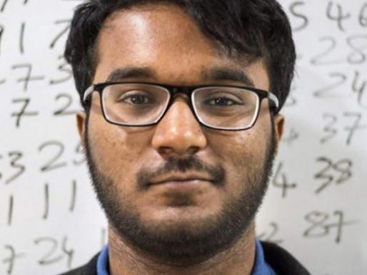 """Após traumatismo, jovem é eleito """"calculadora humana"""" mais rápida do mundo"""
