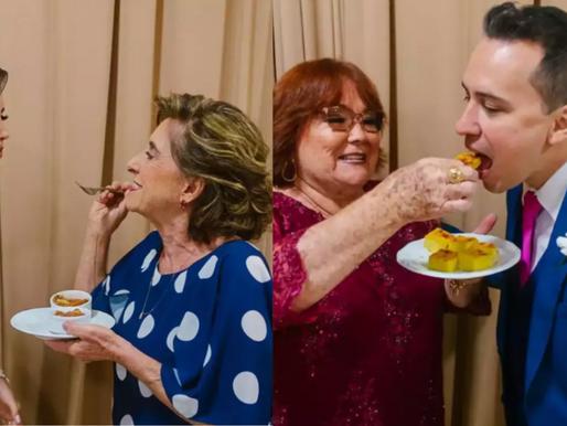 Buffet chique? Esquece! Noiva escolhe nhoque de avó e sopa da sogra como pratos de seu casamento