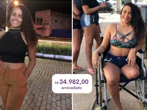 Vaquinha arrecada mais de R$ 34 mil e jovem realizará o sonho de ter sua prótese após perder perna e