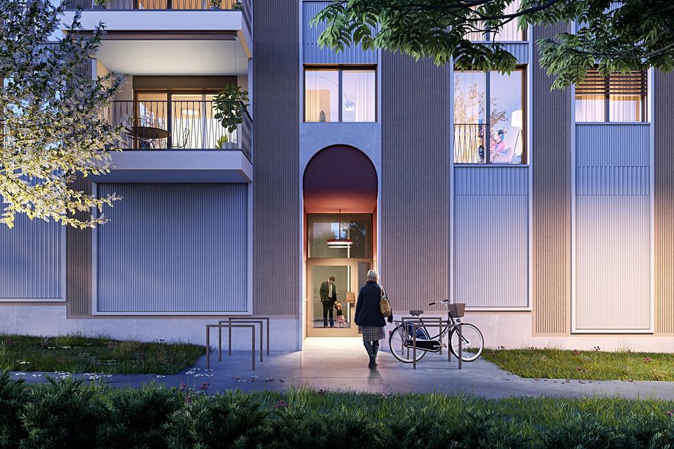 Birmendorfstrasse 319, Zürich - Vermarktung Überbauung