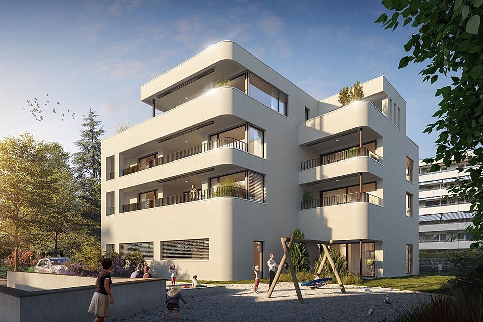 Immobilienvermarktung MFH Steinhausen, Zug