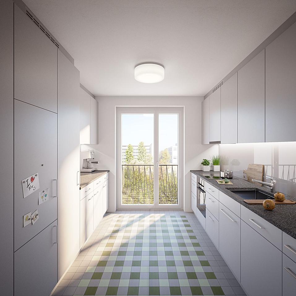 Mosaik Limmatfeld - Küche