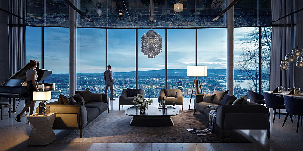 Penthouse Zugerberg - 01
