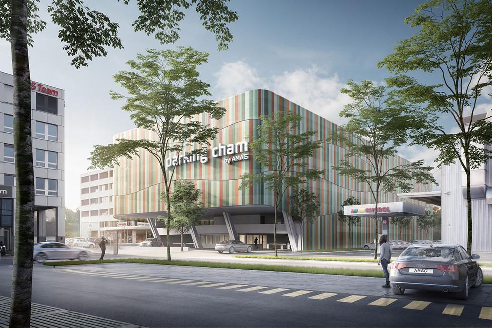AMAG AG - Parkhaus Cham