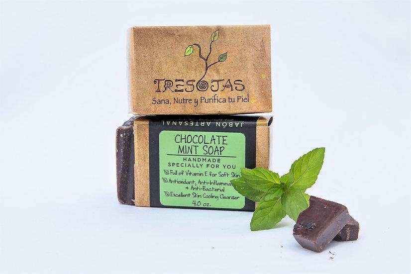 Chocolate con Menta (Mint Chocolate) 4.oz
