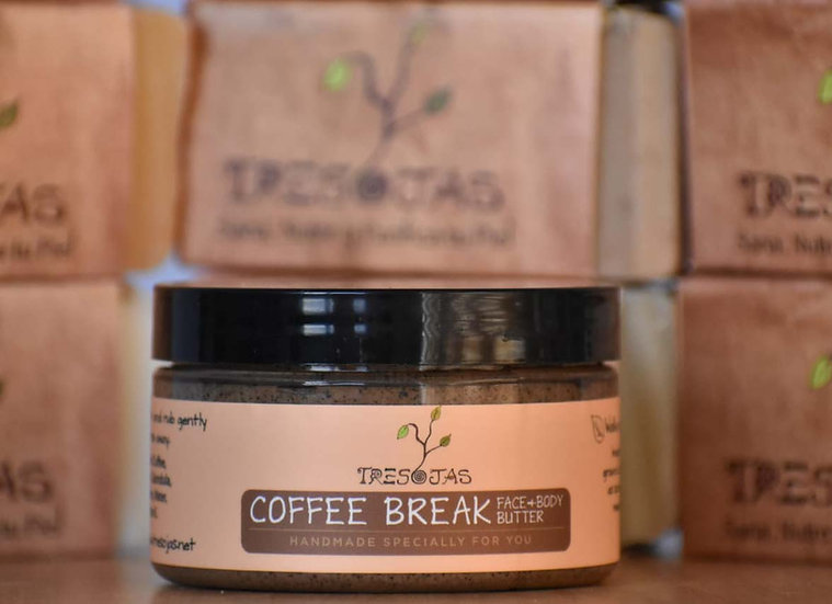 Coffee Break Face & Body Butter (4 onz.)