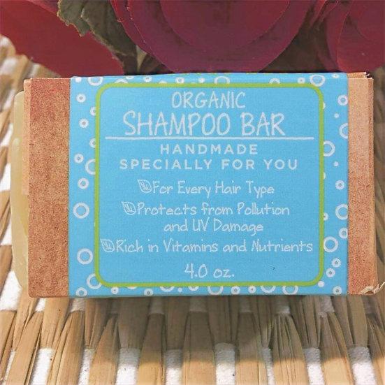 Organic Shampoo Bar  4.0 onz.
