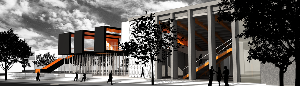 Kino Kosmos-space for culture-competitio