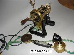 Mágnestalpas telefon Leltári szám T16 20
