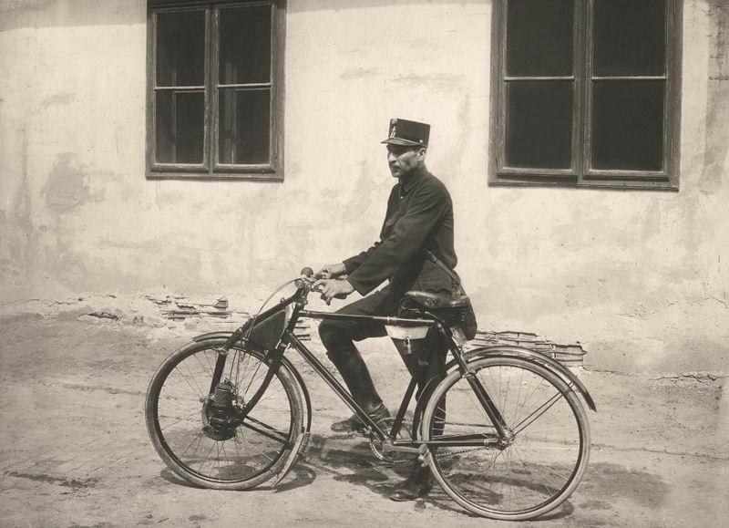 Austro-Motorette segédmotoros távirat-ké