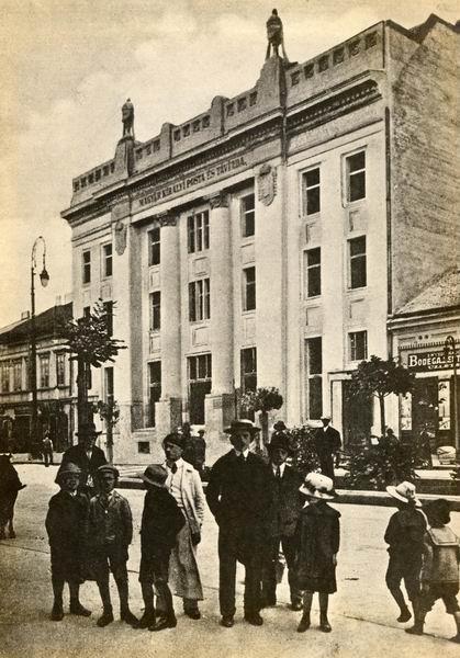 Marosvásárhelyi postaház
