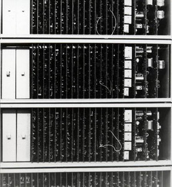 10X20-as crossbar gép és a drótrugós jel