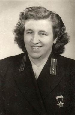 Garai Pálné kezelő, Budapest 1954