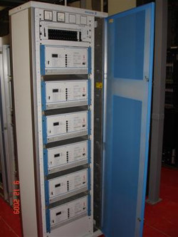 Ericsson áramellátó szekrény