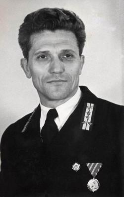 Kőhalmi Ferenc üzemvezető, Budapest 1953