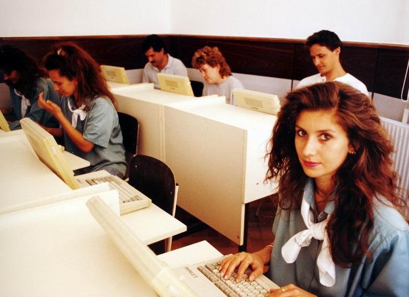 Számítógépes oktatószoba
