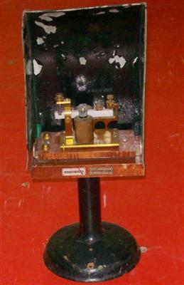 Morse távírók - Kopogó Leltári szám T15