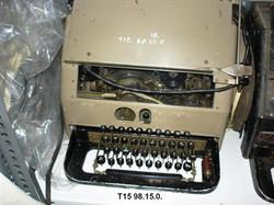 Távgépírók - Lorenz 33 Leltári szám T15