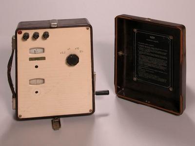 Induktoros földelési ellenállásmérő
