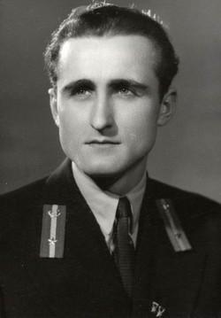 Fazekas Lajos műszerész, Veszprém 1955