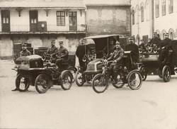 1900 és 1902 között beszerzett postai gé